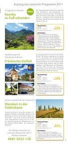 Genusswanderreisen 2011 - Page 3
