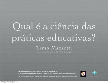 qualacientciadaspraticas,pdf - Tarso Mazzotti