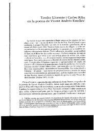 Teodor Llorente i Carles Riba en la poesia de Vicent Andrés ... - Ivitra