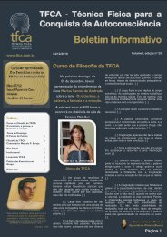 25 – Boletim Informativo da TFCA, 04 DE DEZEMBRO
