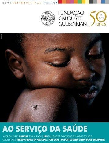 Newsletter - Fundação Calouste Gulbenkian