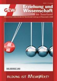 Ausgabe 09-2011 - GEW-Saarland