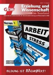 Ausgabe 04-2011 - GEW-Saarland