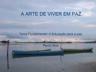 A ARTE DE VIVER EM PAZ