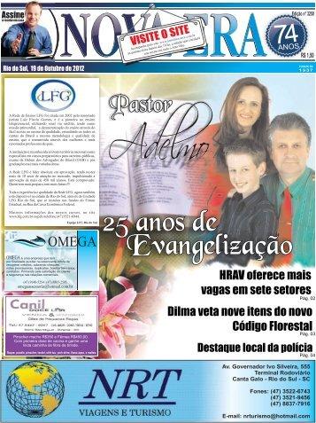 Edição 3250 - Jornal Nova Era