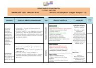 Planificação anual de 5º ANO