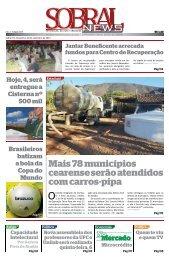 Mais 78 municípios cearense serão atendidos com carros-pipa