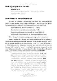 1Co 13.13 - Igreja Batista Central de Campinas