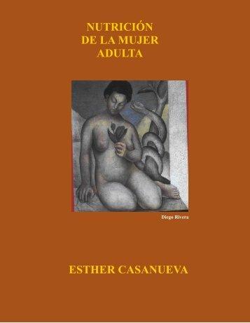NUTRICIÓN DE LA MUJER ADULTA ESTHER CASANUEVA