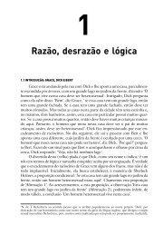 Razão, desrazão e lógica 1 - Ponto Frio