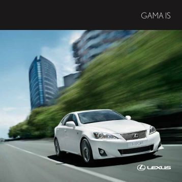 Catalogo IS - Lexus