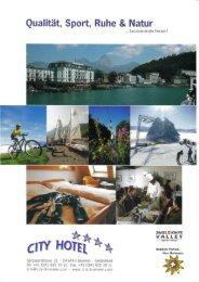 Qualität, Sport, Ruhe & Natur - City Hotel **** Brunnen