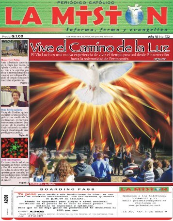 Vive el Camino de la Luz - Periodico Católico - La Mision