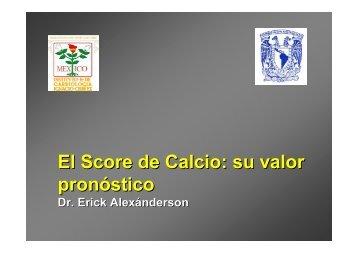 09 Erick Utilidad Clínica del Score de Calcio - Nucleus