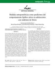 Medidas antropométricas como predictores del ... - edigraphic.com