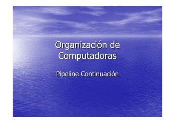 Organización de Computadoras