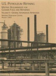 U.S. PETROLE·UM REFINING - The National Petroleum Council