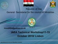 Iraq - Nuclear Safety and Security - IAEA