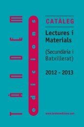 Lectures i material per a Educació secundaria