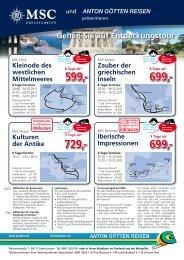 8 Tage Ab 599 - Anton Götten Reisen