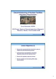Regulatory Requirements - Nuclear Safety and Security - IAEA