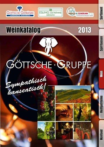 Weinkatalog Weinkatalog 2013