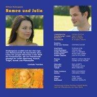 Romeo und Julia - Das Goethezeitportal