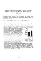 Rhizobacteria-Mediated Induced Systemic Resistance (ISR) in ...