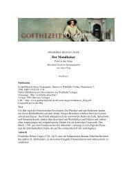 Der Mondkaiser - Das Goethezeitportal
