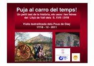 La Festa del Glaç - Ajuntament de Lliçà de Vall