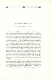 Tractament del cranc - Institut d'Estudis Catalans