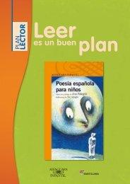 Guía Poesía española para niños - Leer es un buen Plan