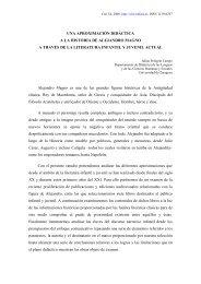 Una aproximación didáctica a la historia de Alejandro Magno a ...