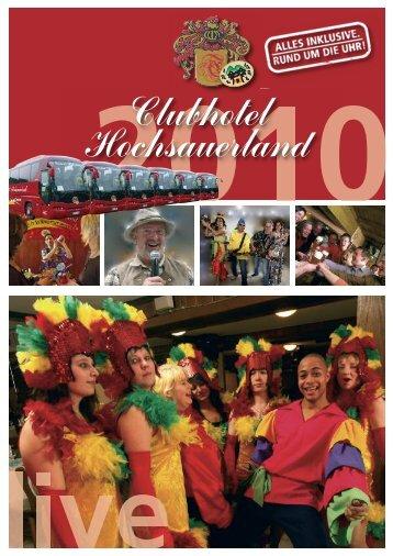 Club Magazin - Clubhotels Hochsauerland