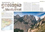 Geologia de Montserrat