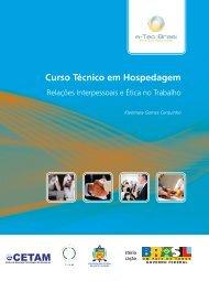 Relações Interpessoais - Rede e-Tec Brasil - Ministério da Educação