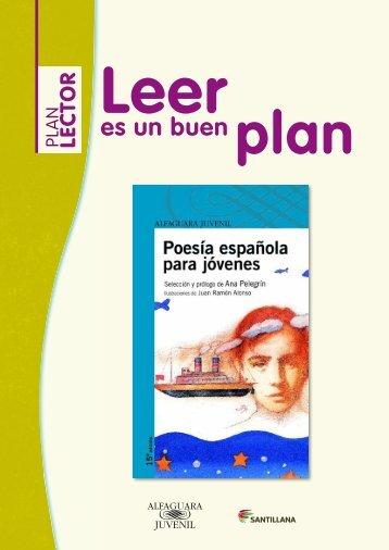 Guía poesía española para jóvenes - Leer es un buen Plan