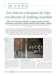 Las marcas europeas de lujo encabezan el ranking - Mundo ...