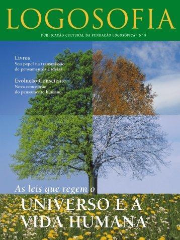 publicação cultural da fundação logosófica nº 8 - Editorial Logosofica