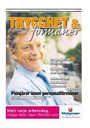 Pionjärer inom personalförmåner - Publikationer Provisa Sverige AB ...