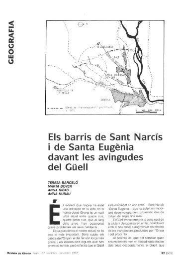o o Els barris de Sant Narcís i de Santa Eugenia davant les ... - RACO