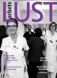 Arbetslust nr 4 2006 - Institutet för stressmedicin