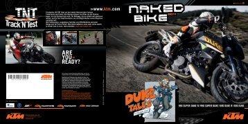 KTM Naked Bikes 2011
