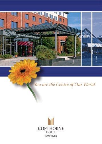 Bankettmappe (PDF) - Copthorne Hotel Laatzen