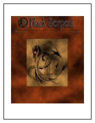 Black Serpent - Demonolatry
