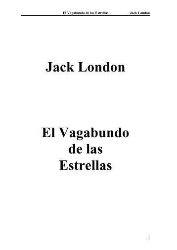 Jack London El Vagabundo de las Estrellas