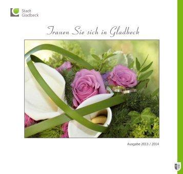 Hochzeits-Broschüre - Stadt Gladbeck