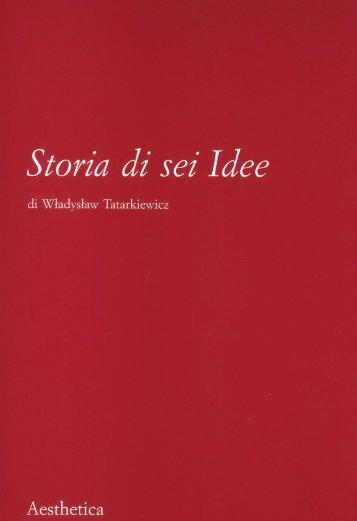 W.Tatarkiewicz, Storia di sei idee