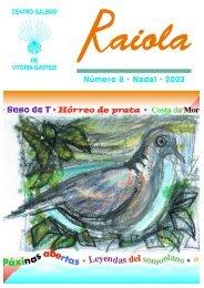 + Descargar revista nº 8 (PDF) - Centro Gallego de Vitoria