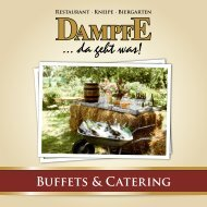 BUFFETS & CATERING - Dampfe
